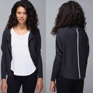 WOMENS'S LULULEMON AFTER CLASS CARDIGAN SZ 10 NWT
